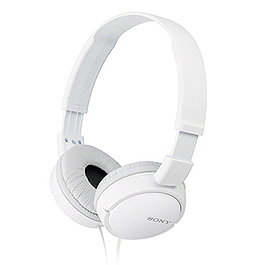 SONY 索尼 MDR-ZX110-W 耳罩式耳機 白
