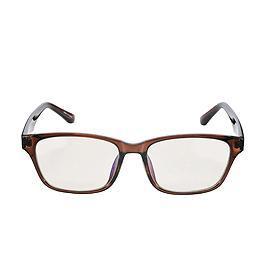 ELECOM 抗藍光眼鏡 - 經典復古- 棕【展示良品】