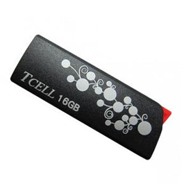 TCELL 冠元 捉迷藏 16GB隨身碟 黑