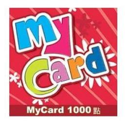 【点数卡】MyCard 10,000点 (1000点*10张)(特价95折起)