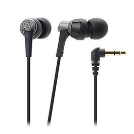 鐵三角 ATH-CKR3 高音質密閉型耳塞式耳機 黑