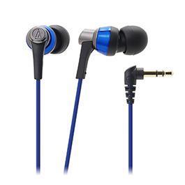 鐵三角 ATH~CKR3 高音質密閉型耳塞式耳機 藍