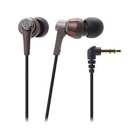 鐵三角 ATH-CKR3 高音質密閉型耳塞式耳機-棕