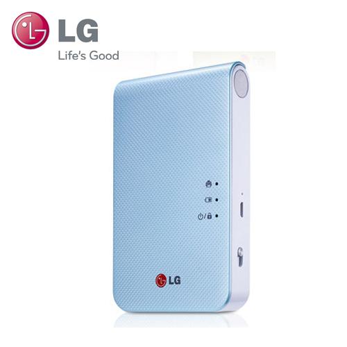 LG Pocket photo 3.0口袋相印機第三代 PD239 孔雀藍【展示良品】