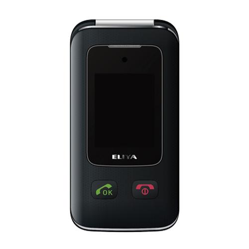 ELIYA W630 大字體掀蓋 雙卡雙待手機 黑