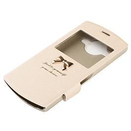 美圖手機2 專用皮套 香檳金