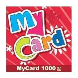 MyCard 3000點(1000點*3張)(特價95折起)