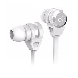 富士通 智慧型手機專用入耳式耳麥 白