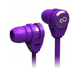 富士通 智慧型手機專用入耳式耳麥 紫