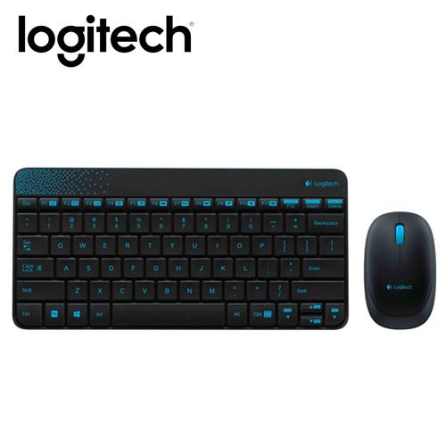 Logitech羅技 MK240 無線鍵鼠組 黑