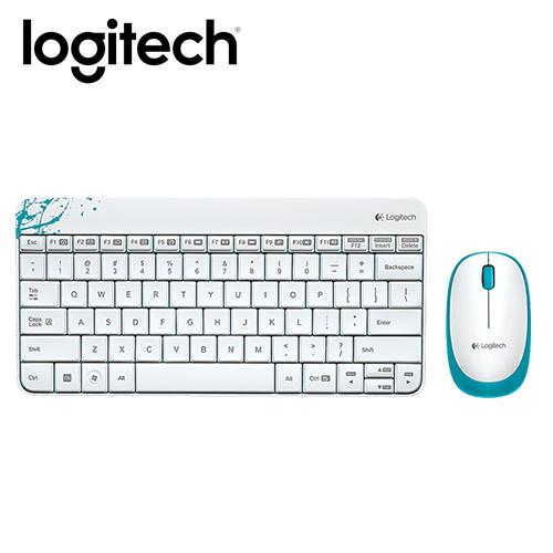 Logitech 羅技 MK240 無線鍵鼠組 白