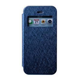 MERCURY iphone 6 开窗侧翻皮套 蓝