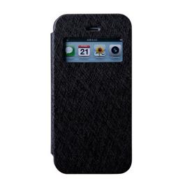 MERCURY iphone 6 開窗側翻皮套 黑