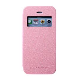 MERCURY iphone 6 开窗侧翻皮套 粉