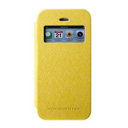 MERCURY iphone 6 开窗侧翻皮套 黄