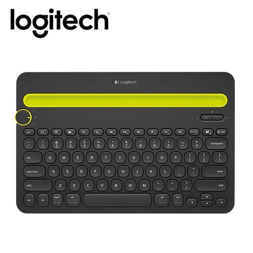 Logitech 羅技 K480 藍芽多功鍵盤 黑
