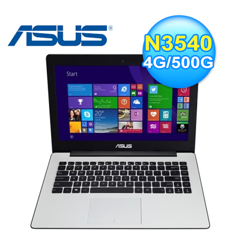 ASUS 華碩 X453MA-0161GN3540 經典白