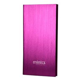 MINIQ IBOOK8000 行動電源 桃紅