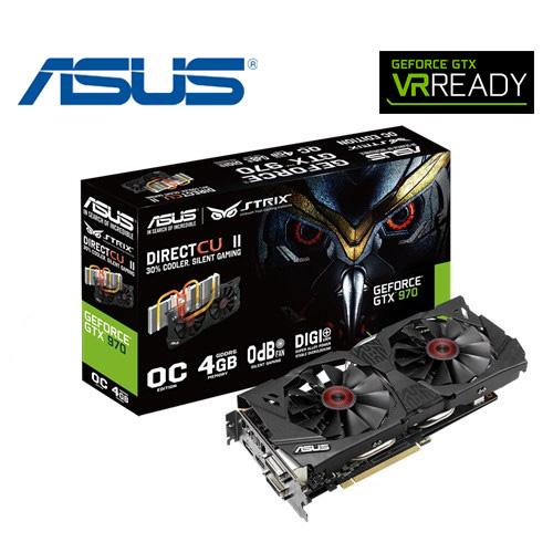 ASUS 華碩 STRIX~GTX 970~DC2OC~4GD5VGA