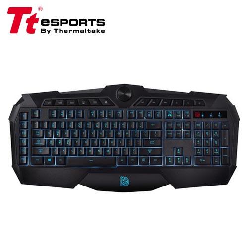 Tt eSPORTS 曜越 挑戰者 三色炫彩背光版 電競鍵盤