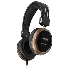 INTOPIC 廣鼎 JAZZ-UB650 USB頭戴式耳機麥克風 黑