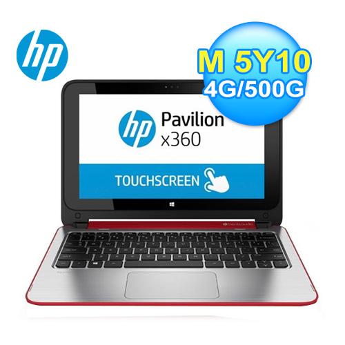HP 惠普 11-n114TU 11.6吋 可翻轉筆電 璀璨紅