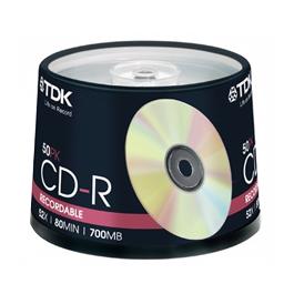 TDK GOLD 52X CD-R 白金片 50入
