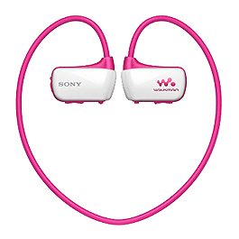 SONY NWZ-W273S 4G防水MP3 粉