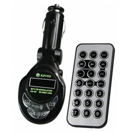 KINYO 耐嘉 AD80-1 車用MP3無線轉換器
