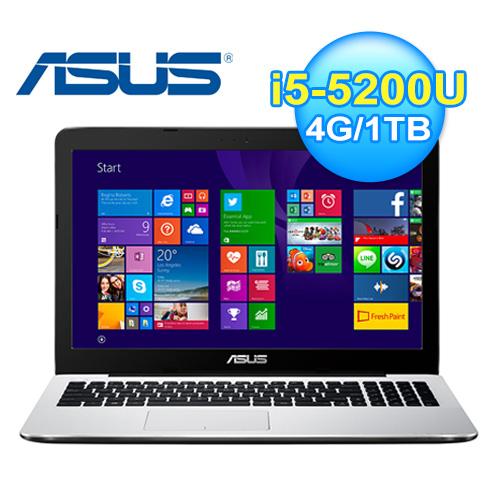 ASUS 華碩 X555LF-0033G5200U 筆記型電腦 白