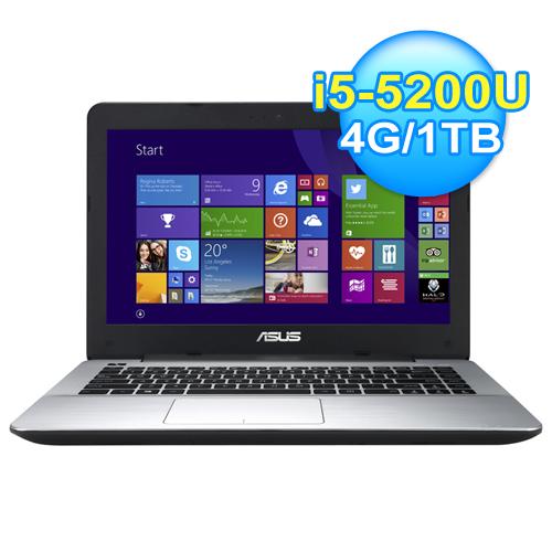 ASUS 華碩 X455LF-0051B5200U 灰