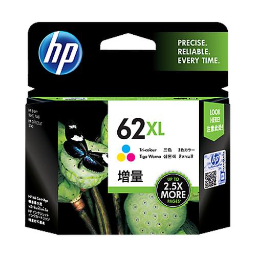 HP C2P07AA (No.62XL) 彩色墨水匣