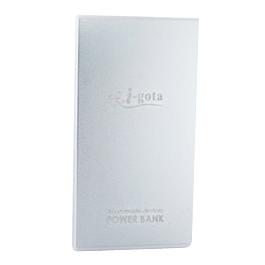 i-gota 鋁合金薄型行動電源 8000MAH 銀