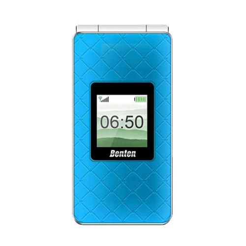 Benten W650 折疊式雙卡雙待手機 藍