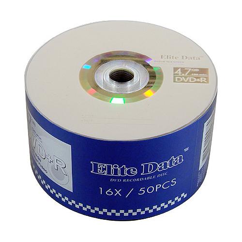 ELITE DATA DVD R 4.7G 16X 50片(無布丁桶)