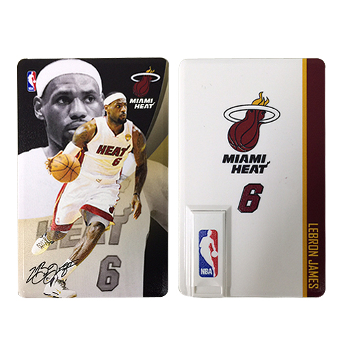 NBA 詹姆士大帝 8G卡片隨身碟
