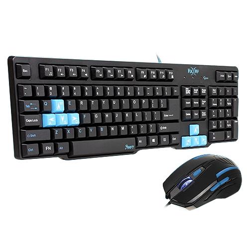 FOXXRAY 迅疾戰狐 電競鍵盤滑鼠組 FXR-CKM-01