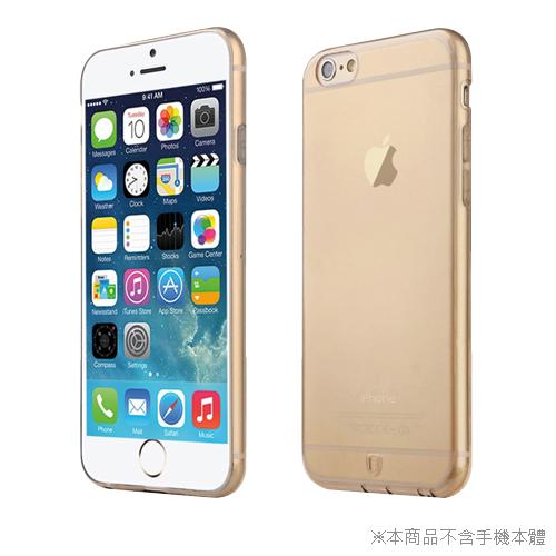 BASEUS 超薄TPU軟套 iphone 6 4.7吋 透金