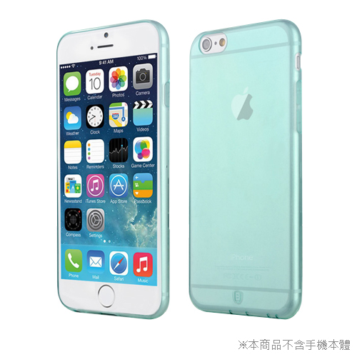 BASEUS 超薄TPU軟套 iphone 6 4.7吋 透綠