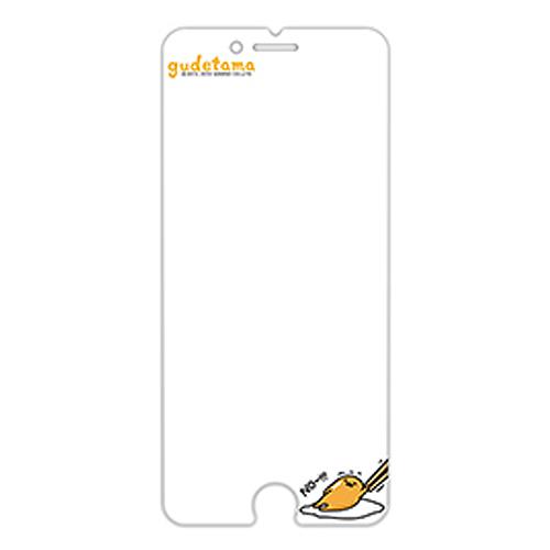 蛋黄哥 浮雕玻璃保贴 iPhone 6+ (GE104)
