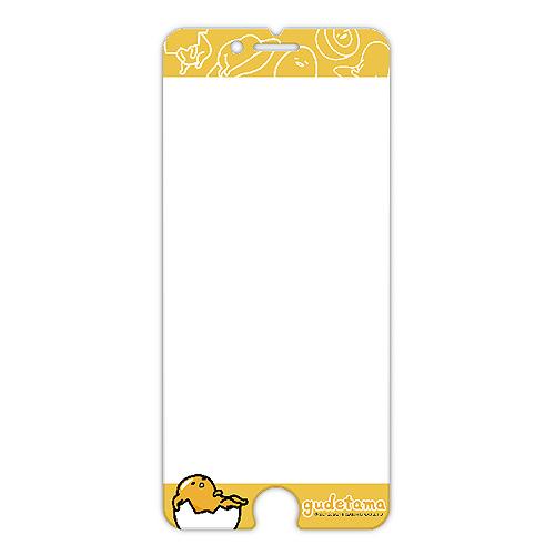 蛋黄哥 浮雕玻璃保贴 iPhone 6+ (GE203)