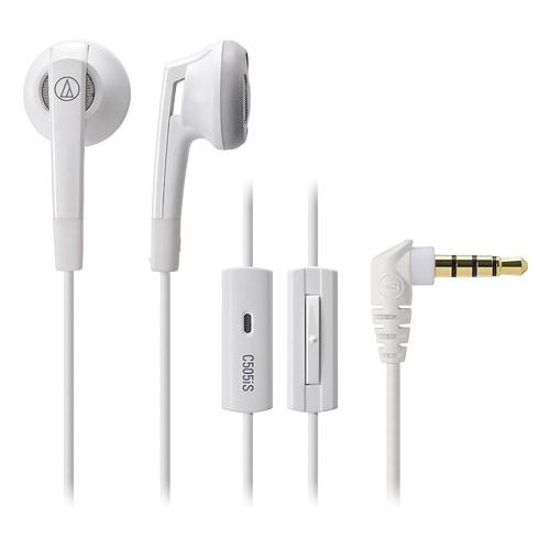鐵三角 ATH-C505iS 耳塞式耳機 白