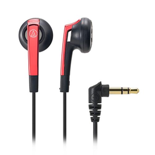 鐵三角 ATH-C505 耳塞式耳機 紅 -friDay購物 x GoHappy