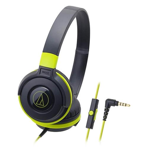 鐵三角 ATH-S100iS 耳罩式耳麥 綠