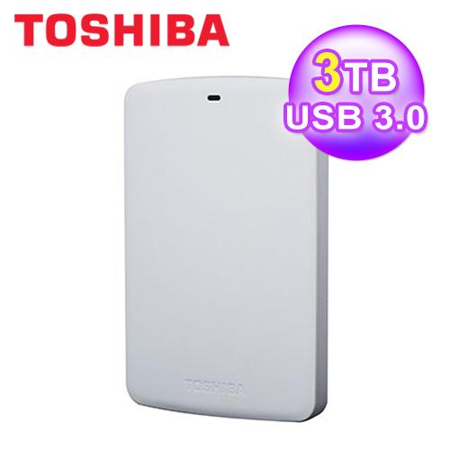 Toshiba 3TB 2.5吋外接3.0-A2白
