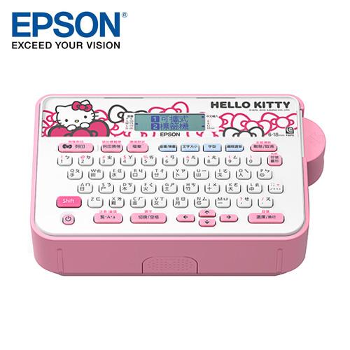EPSON 愛普生 LW-200KT Hello Kitty標籤機《台灣限定》