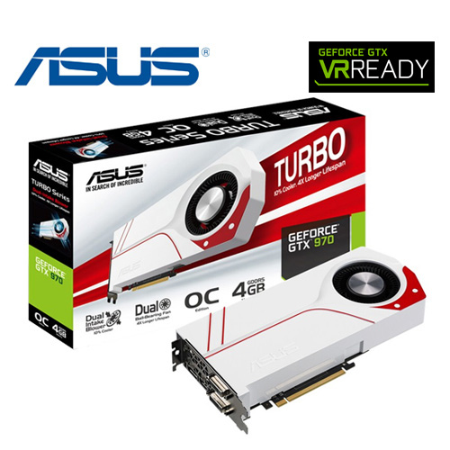 ASUS 華碩 TURBO~GTX 970~OC~4GD5 顯示卡