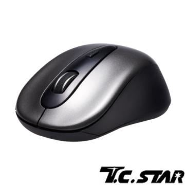 T.C.STAR - 無線光學滑鼠 TCN632 灰