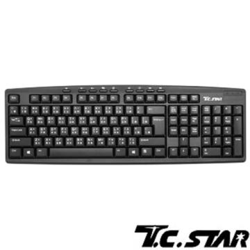 T.C.STAR - 有線薄膜鍵盤 TCK666