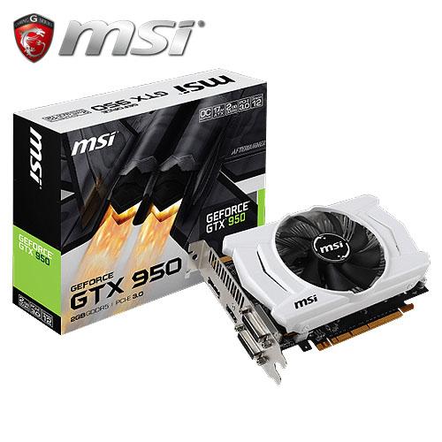 msi 微星 GTX 950 2GD5 OC 顯示卡